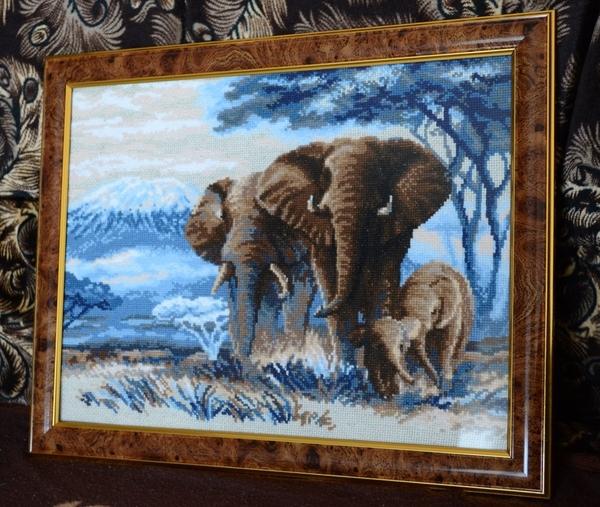 Семь слоников вышивка отзывы 46