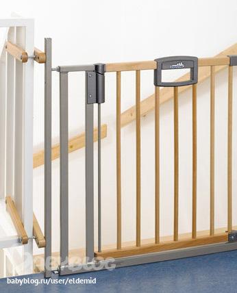 ворота для лестницы от детей фото