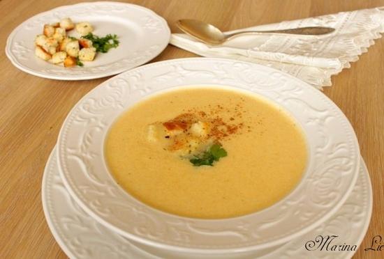 Сырный суп для ребенка