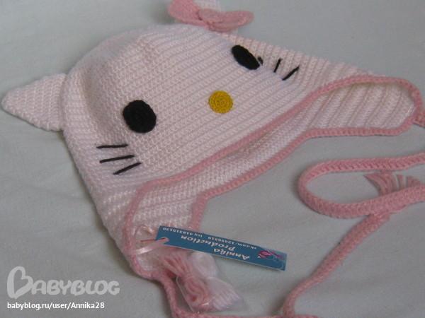 Шапочка Hello Kitty