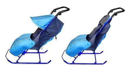 помогите с выбором: коляска vs санки.