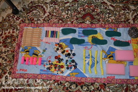 Ортопедический коврик своими руками для детей с фото