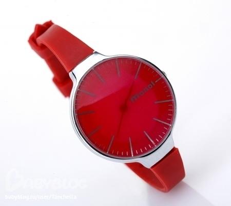 Красные часы для сайта