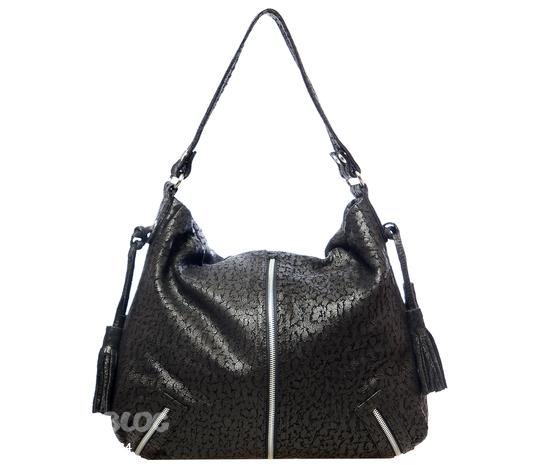 Черная женская сумка Erba 1093-02.