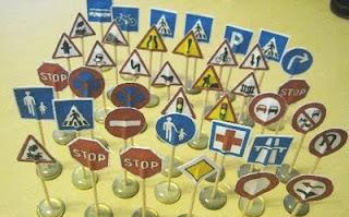 Дорожные знаки своими руками для детского сада