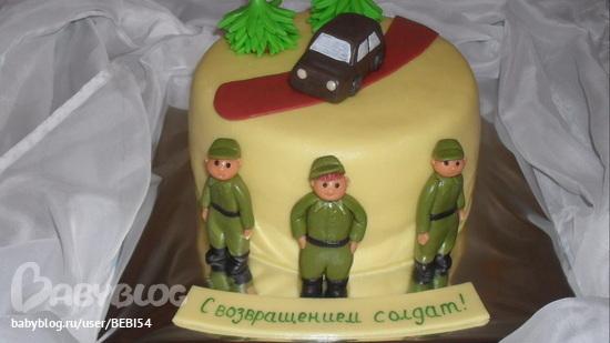 Торт на день рождения ребенка своими