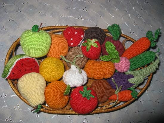 Вязаные осенние поделки своими руками для детского сада