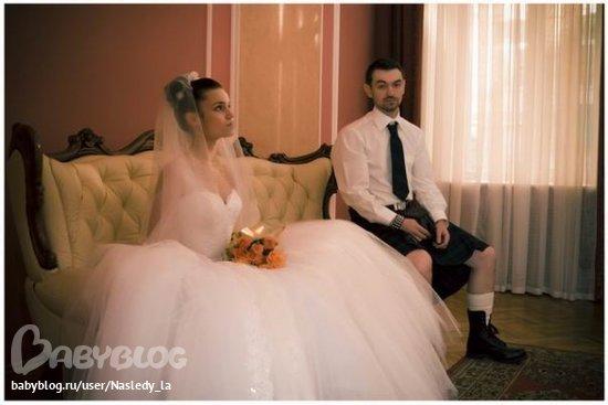 свадебное платье но не белое