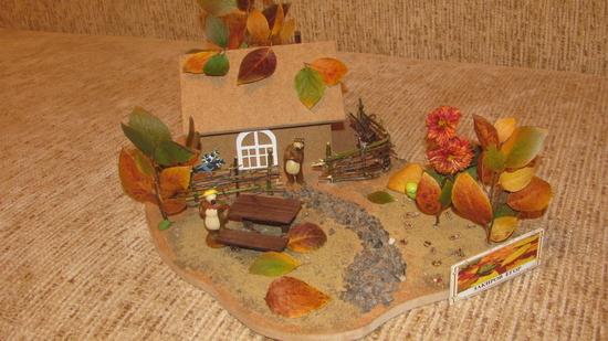Фото поделка в сад на тему осень своими руками