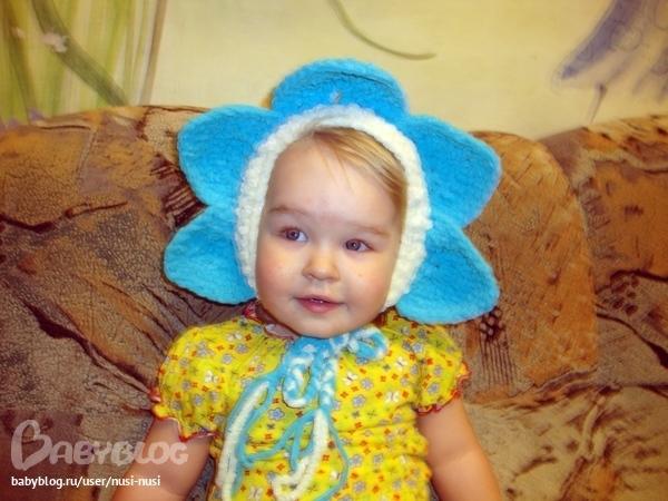 Цветы для детских шапочек своими руками