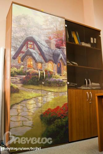 Фото на плитке, стекле и ... - витражные стекла для кухонных.