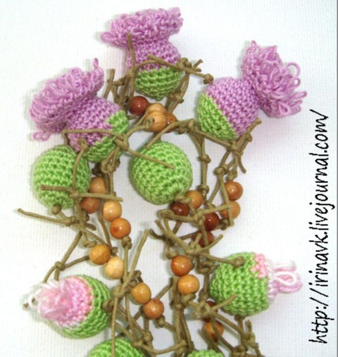 Вязаные крючком цветы уроки (1-10) (видео) В'язання