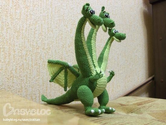 Змей горыныч поделка своими руками