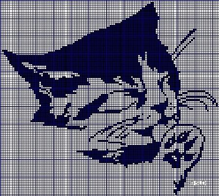 схем для вышивки крестом