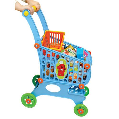 Игрушечная тележка для продуктов сделает детскую...