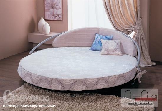 Очень понравилась идея оформления такой кровати.