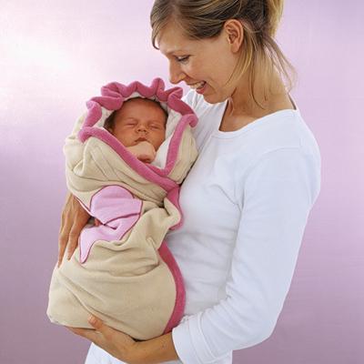 Как своими руками сшить конверт для новорожденного