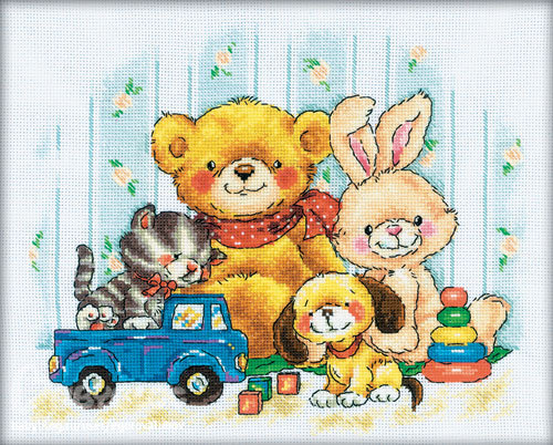 """схема """"Любимые игрушки"""" от РТО"""
