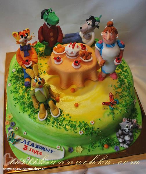 Скачать картинки детских тортов