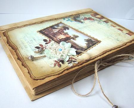 Как состарить обложку книги своими руками