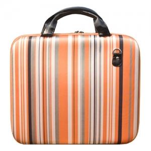 """Удобная стильная сумка для ноутбука  """"Оранжевые полосы..."""