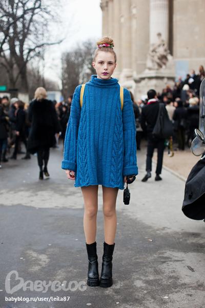 Описание: Уличная мода 2012 образ: Street Style 1090 в.