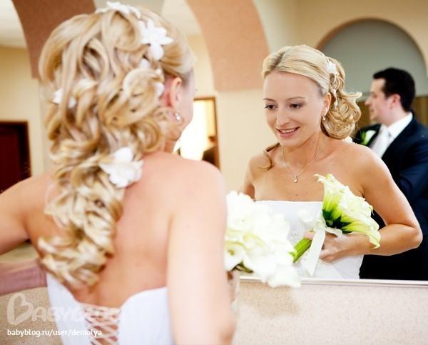 Причёски на свадьбу сестра
