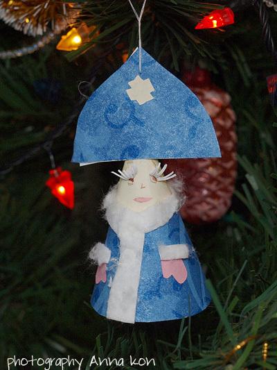 Сделать снегурочку своими руками на конкурс - Laennek.ru