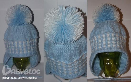 Вторая вязаная шапка и тоже