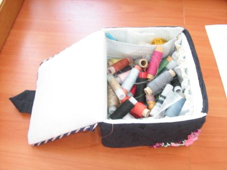 Коробка своими руками для швейных принадлежностей своими руками