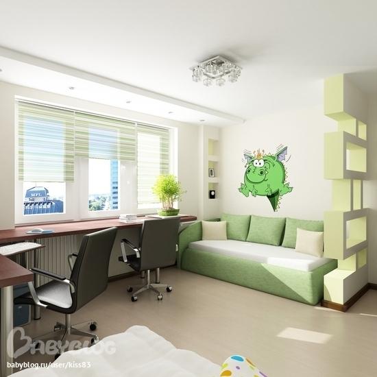 Дизайн интерьера детской комнаты Рего-Ремонт Уфа