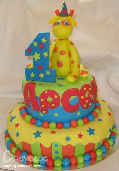 Марта 2012 01 14 • торты детские