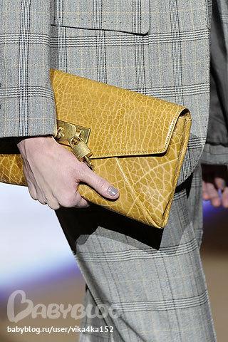 Модные тенденции осени 2012: сумки.