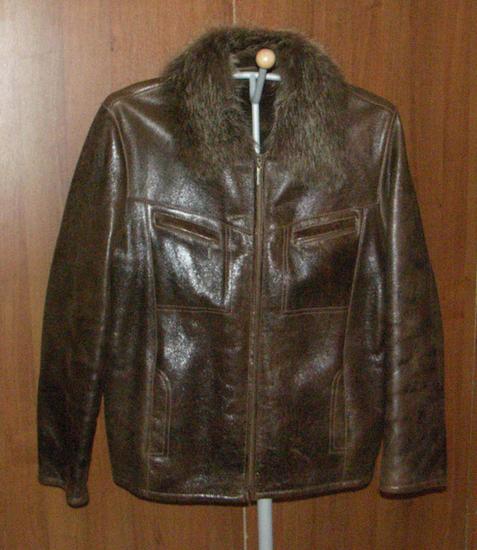 куртки мужские зимние украина: мех кожа сырье.