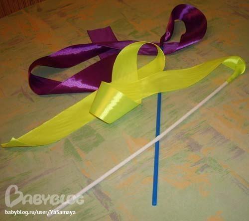 Как сделать палочку с лентой для танца видео - Visit-petersburg.com