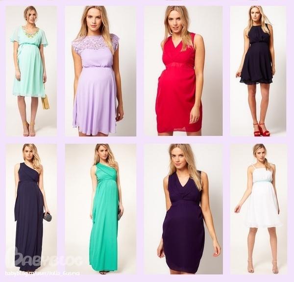 Какие платья носить беременным фото 76