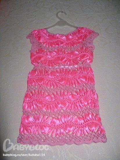 Платье на дочку к Новому году
