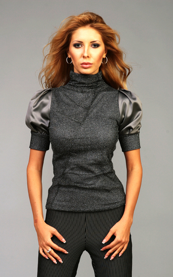 Модные модели из трикотажа