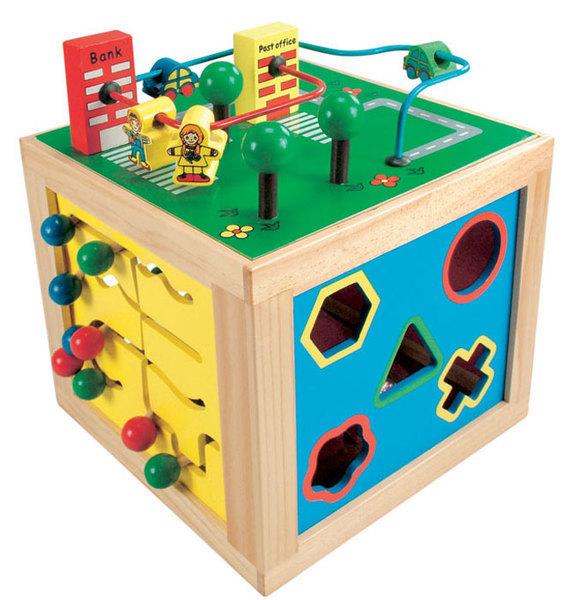 Развивающие деревянные игрушки для