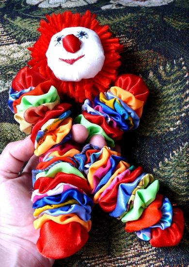 Как своими руками сделать игрушку клоуна своими руками