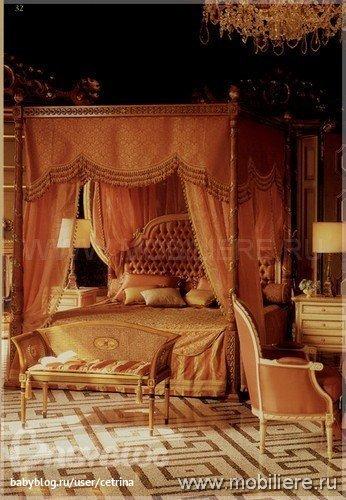 Элитная мебель на заказ EZIO BELLOTTI - спальни из Италии - классика.