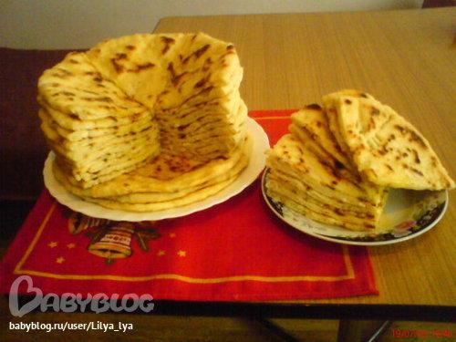 вайнахские лепешки чапильгаш рецепт