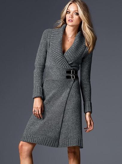 платье на зиму вязание на спицах - Выкройки одежды для детей и взрослых.
