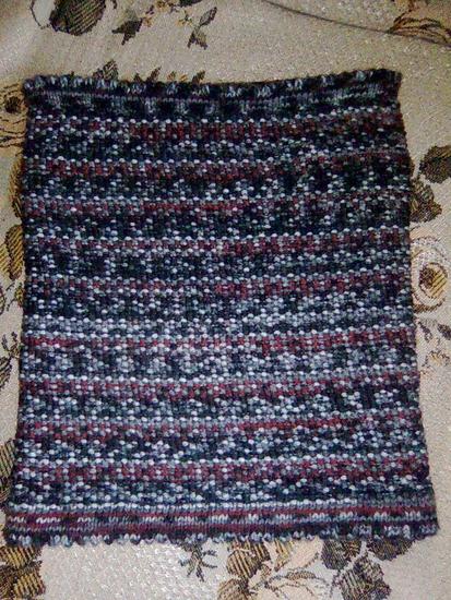 ...вязание спицами, как вязать, спицами, шапка, шапка-труба, шарф, шарф...